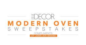 ElleDecor.com/JennAir – Modern Oven Sweepstakes