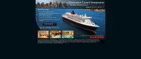 Destination Cunard Sweepstakes