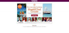 FamilyCircle.com/MasterChef: Sail Away with Family Circle & MasterChef