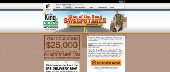 King of the Road Sweepstakes
