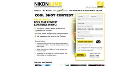 NikonLive Cool Shot Contest