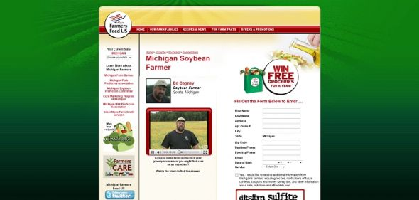 FarmersFeedUS.org – Farmers Feed US Sweepstakes