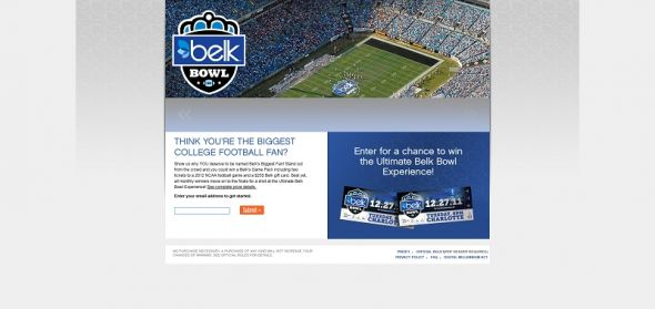 Belk Biggest Fan Contest