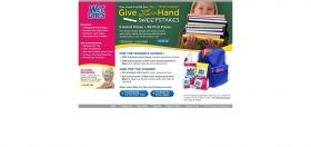 Give Your School a Hand Sweepstakes