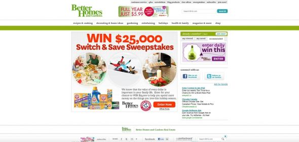 $25,000 Holiday Switch & Save Sweepstakes