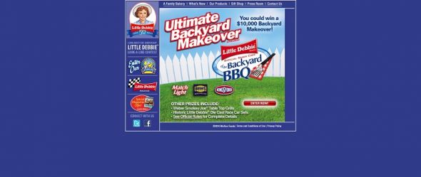 Little Debbie Back Yard Makeover Giveaway