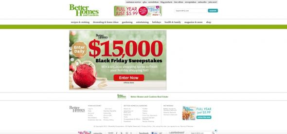 $15,000 Black Friday Sweepstakes