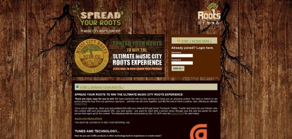 Spread Your Roots Contest