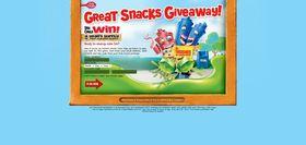 www.greatsnacksgiveaway.com – Great Snacks Giveaway