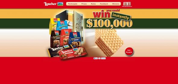 Loacker Win Every Hour Sweepstakes