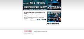 Coca-Cola/Hibbett Sports Any Football Game Sweepstakes