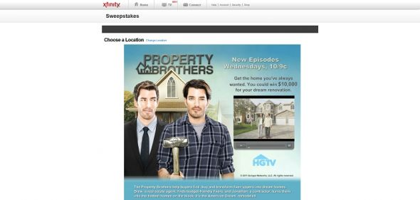 Property Brothers Sweepstakes