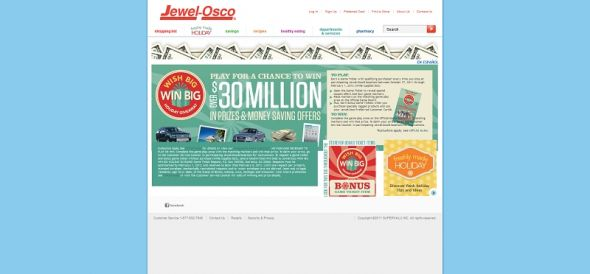 jewelosco.com/wishbig – Jewel-Osco WISH BIG WIN BIG HOLIDAY GIVEAWAY Collect & Win Game
