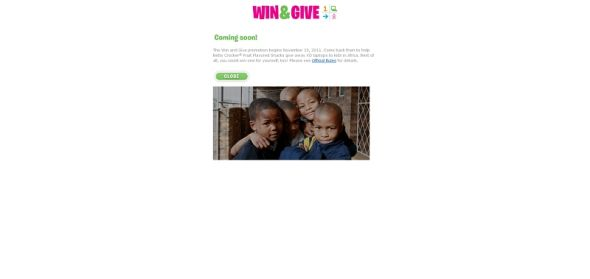 Win and Give