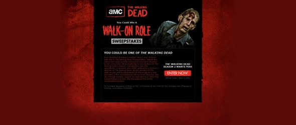 sweeps.amctv.com/thewalkingdead – AMC's The Walking Dead Sweepstakes