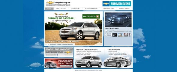 chevydriveschicago.com – Chevy Dealers Summer of Baseball Traverse Giveaway
