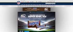 Go nuts At Super Bowl With Snickers Instant Win Game