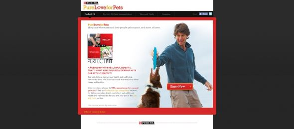 pureloveforpets.com – Purina Perfect Fit Spa Sweepstakes