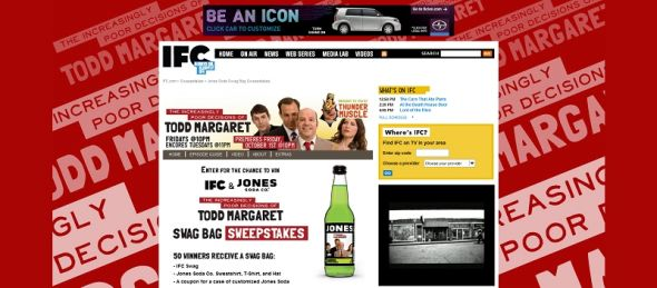 IFC & Jones Soda Todd Margaret Swag Bag Sweepstakes