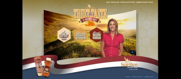 TrusttheTaste.com – Sue Bee Trust the Taste of American Honey Instant Win Game