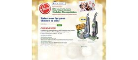 Hoover's Stress Less Holiday Sweepstakes