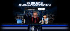 bethekingcontest.com – Larry King Be The King Promotion