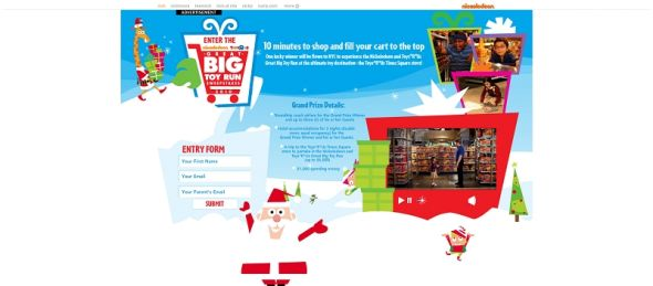 nick.com/greatbigtoyrun – Nickelodeon and Toys R Us Great Big Toy Run Sweepstakes