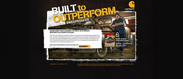 Built to Outperform Sweepstakes