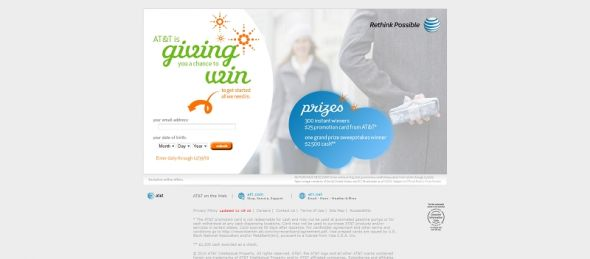 AT&T Holiday Instant Win Game & Sweepstakes