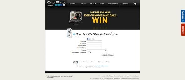 GoPro Everything We Make Sweepstakes