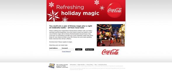 cokeholidaymagic.com – Coke Holiday Magic Sweepstakes