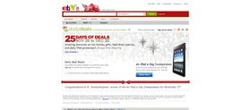eBay Daily Deals Holiday Sweepstakes