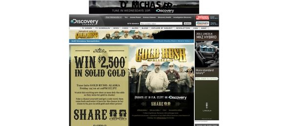 Gold Rush Giveaway