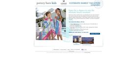 Pottery Barn Kids & Loews Ultimate Family Vacation Sweepstakes