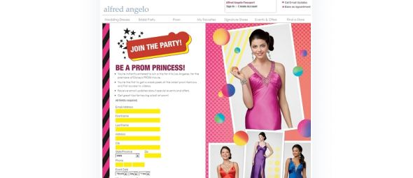 Alfred Angelo Prom Trip Giveaway