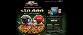 RED BARON Pan Pizza Beats Delivery Sweepstakes