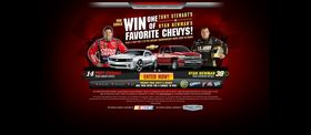 Win One of Tony Stewart's or Ryan Newman's Favorite Chevys Sweepstakes