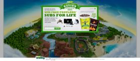 Subway Footlong Nation Appreciation Instant Win Game & Sweepstakes