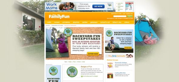 Backyard Fun Sweepstakes