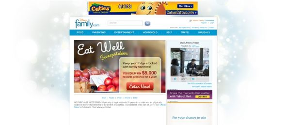 Eat Well Sweepstakes