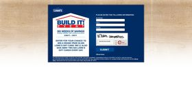 www.lowesbuilditsweeps.com – Lowe's Build It Mobile Sweepstakes
