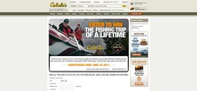Cabela's and GORE-TEX Gear Fishing Trip of a Lifetime Sweepstakes