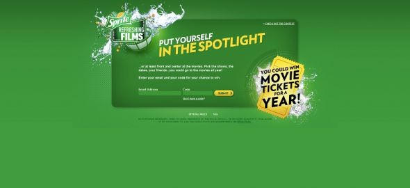 Sprite Spotlight Sweepstakes