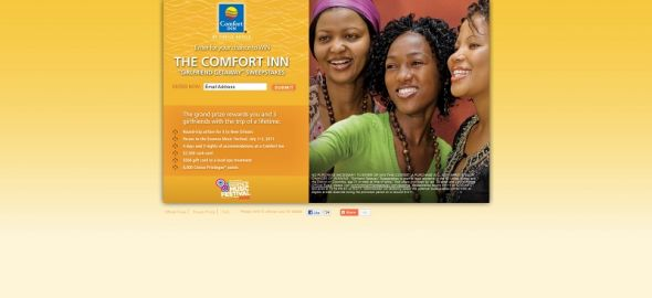 Comfort Inn GirlFriend Getaway Sweepstakes