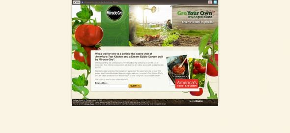 Miracle-Gro Gro Your Own Sweepstakes