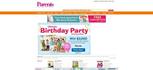 Ultimate Birthday Party Sweepstakes