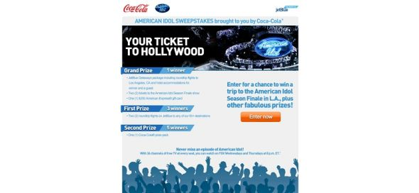 American Idol Sweepstakes