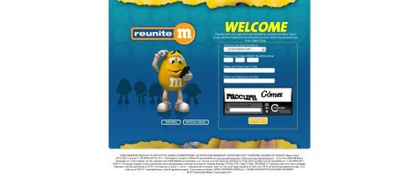 www.reunitemprize.com – M&M'S Reunitem Prize