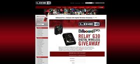 Billboard Pro Relay G30 Digital Guitar Wireless Giveaway