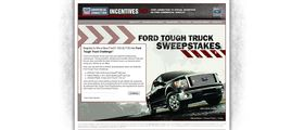 2010 Ford Tough Truck Sweepstakes